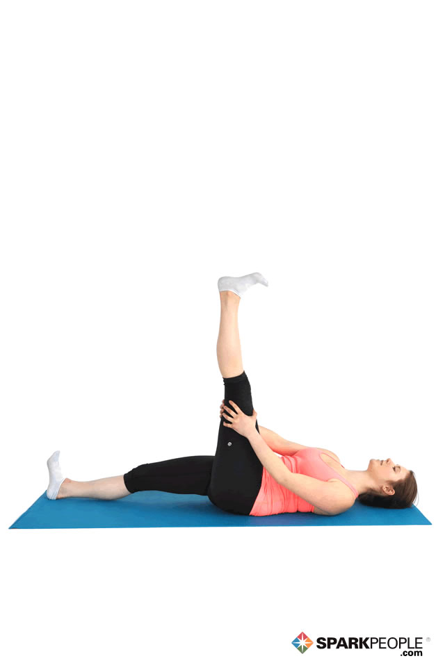 Lying Hamstring Stretch Exercise