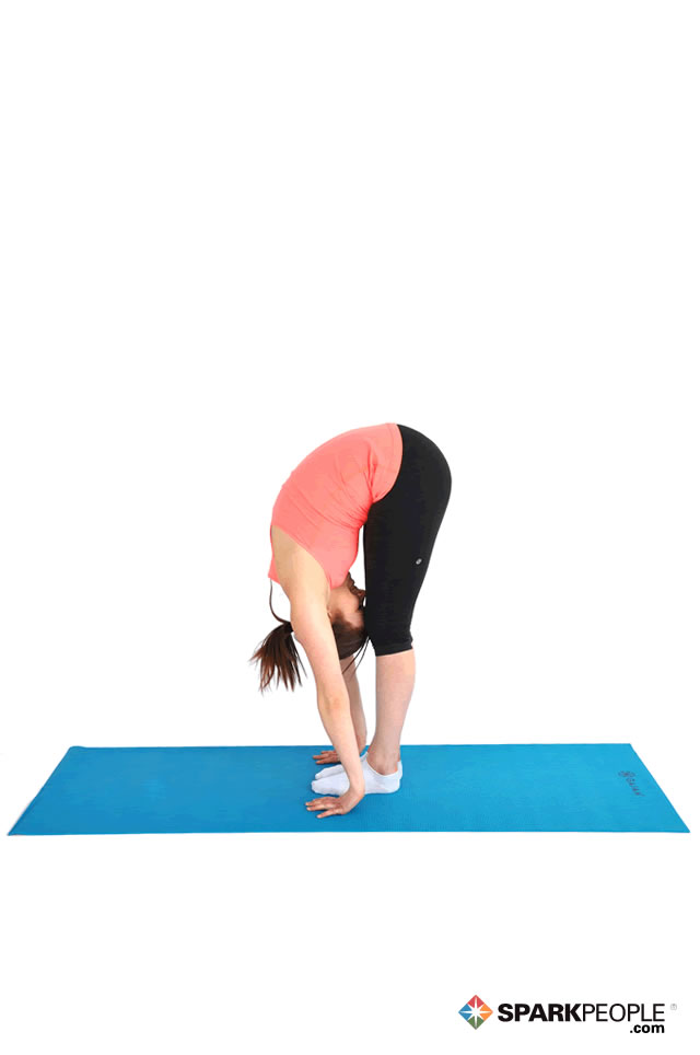 Standing Advanced Forward Bend Exercise