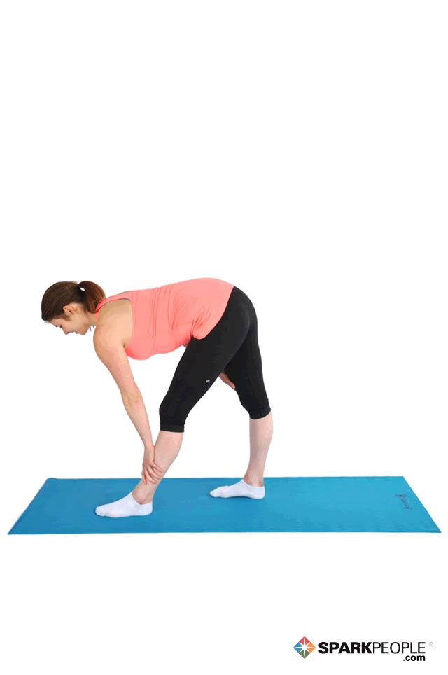 Standing Advanced Hamstring Stretch Exercise