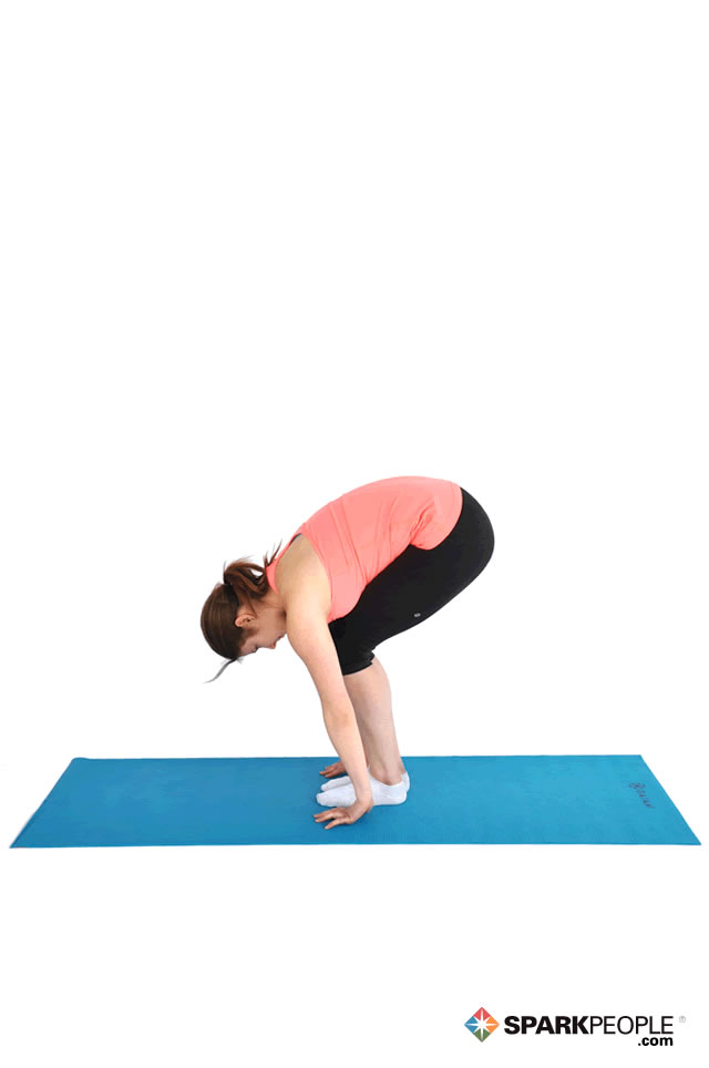 Standing Modified Forward Bend Exercise