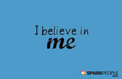 Motivational Quote - I believe in me.