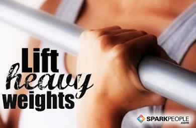 Motivational Quote - Lift heavy weights