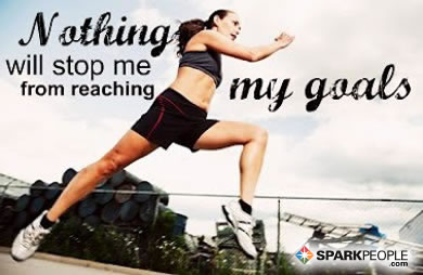 Motivational Quote - Nothing will stop me from reaching my goals.