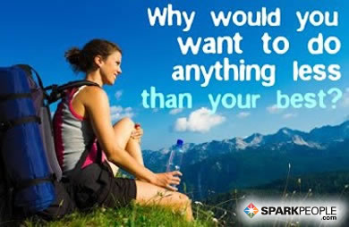 Motivational Quote - Why would you want to do anything less than your best?