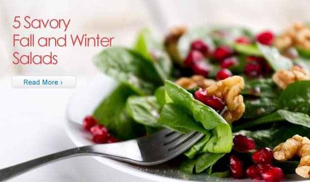 5 Savory Fall and Winter Salads