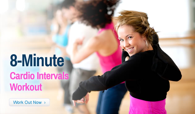 8-Minute Cardio Intervals Workout