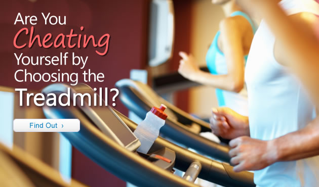 Are You Cheating Yourself by Choosing the Treadmill?